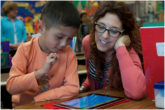 Learning came alive for this Yountville first grader when his teacher introduced him to an iPad and he discovered how it could help him learn reading and math.