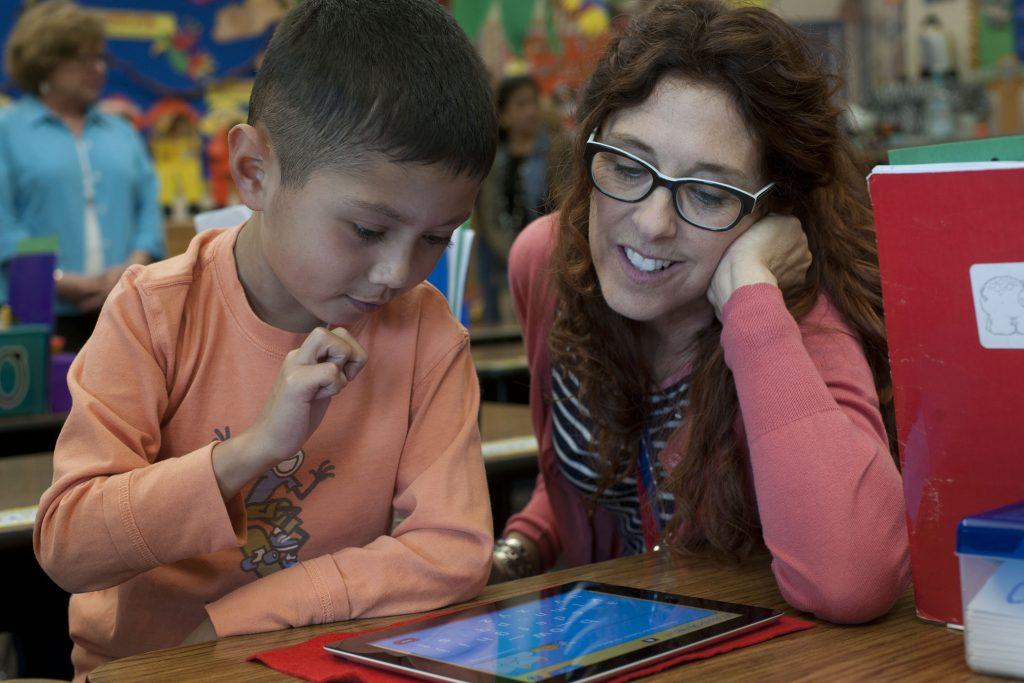 Teacher-preschooler-Footsteps-to-Brilliance