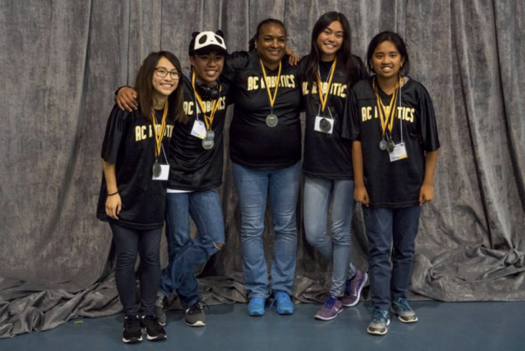 American Canyon High School all-girl team takes 2nd place