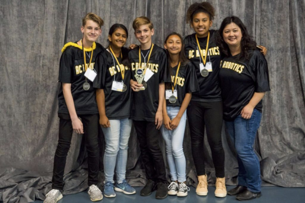 American Canyon Middle School wins 2nd place award